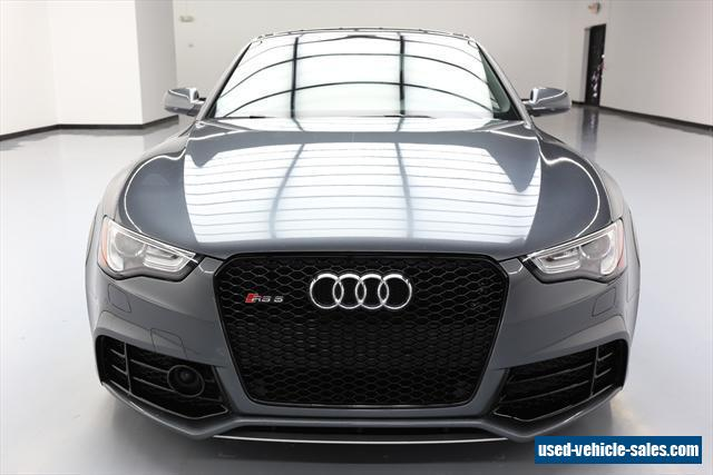 2013 audi rs5 for sale in the united states. Black Bedroom Furniture Sets. Home Design Ideas