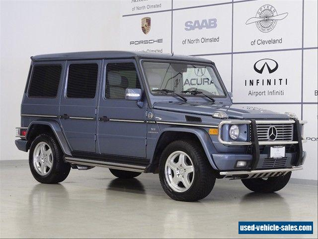 2005 mercedes benz g class for sale in canada for Mercedes benz g class g55 amg for sale