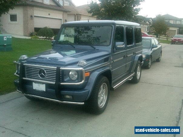 2005 mercedes benz g class for sale in canada for Mercedes benz for sale in canada