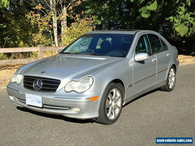 2003 mercedes benz c class for sale in canada. Black Bedroom Furniture Sets. Home Design Ideas