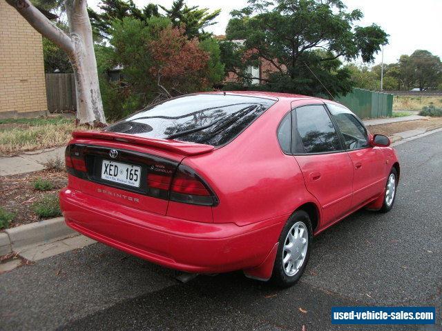 Toyota Corolla For Sale In Australia