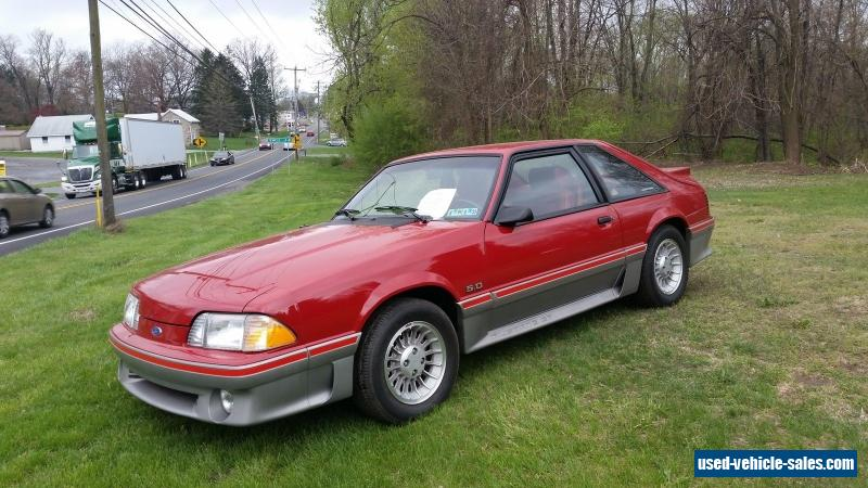 1988 ford mustang gt hatchback 2 door for sale. Cars Review. Best American Auto & Cars Review
