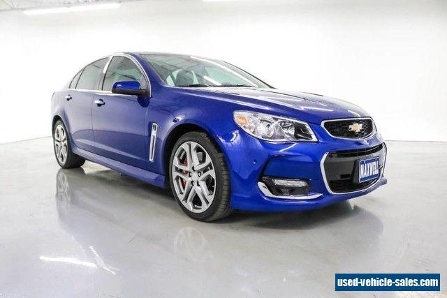 2016 chevrolet ss for sale in the united states. Black Bedroom Furniture Sets. Home Design Ideas