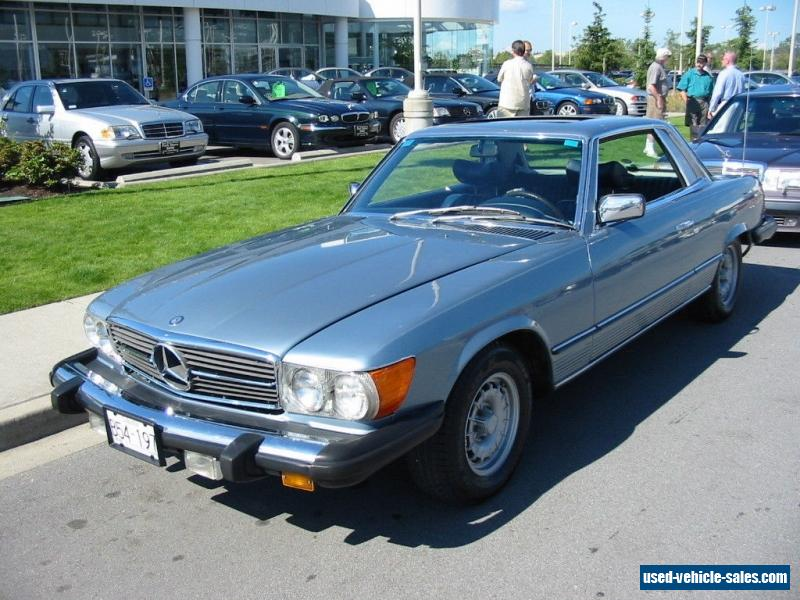 1976 mercedes benz sl class for sale in canada. Black Bedroom Furniture Sets. Home Design Ideas
