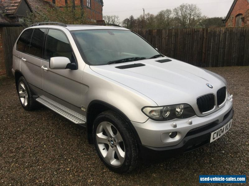 2004 bmw x5 sport d auto for sale in the united kingdom. Black Bedroom Furniture Sets. Home Design Ideas