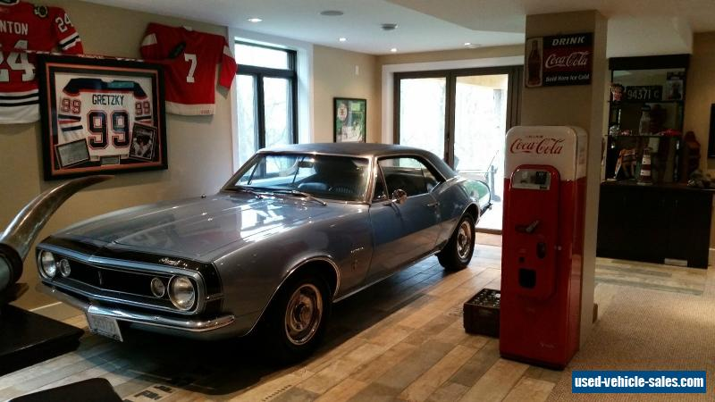 1967 Chevrolet Camaro For Sale In Canada