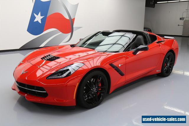 2014 chevrolet corvette for sale in the united states. Black Bedroom Furniture Sets. Home Design Ideas