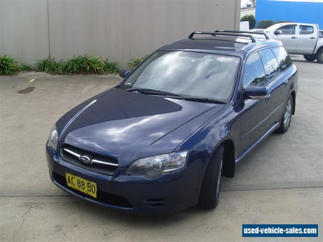 Subaru Liberty B4 For Sale In Australia