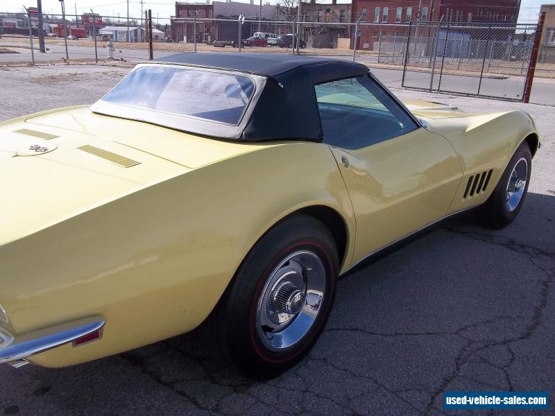 1968 chevrolet corvette convertible for sale. Cars Review. Best American Auto & Cars Review