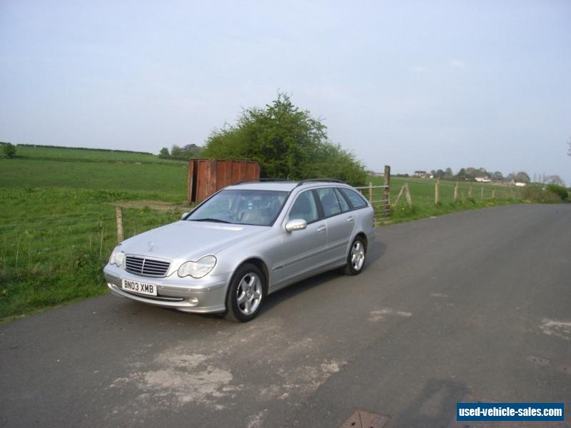 2003 mercedes benz c270 cdi avant garde for sale in the united kingdom. Black Bedroom Furniture Sets. Home Design Ideas