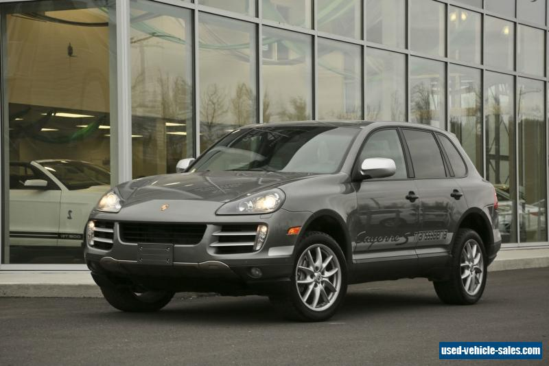 2010 porsche cayenne for sale in canada. Black Bedroom Furniture Sets. Home Design Ideas