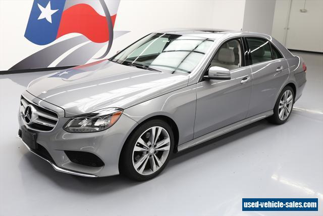 2014 mercedes benz e class for sale in the united states. Black Bedroom Furniture Sets. Home Design Ideas