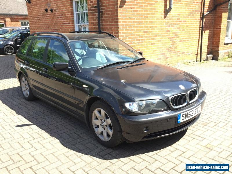 2002 bmw 320 d se touring for sale in the united kingdom. Black Bedroom Furniture Sets. Home Design Ideas