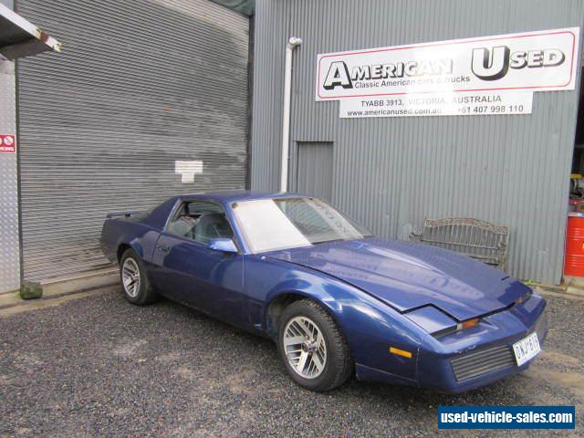 Pontiac trans am for sale in australia for Am motors used cars