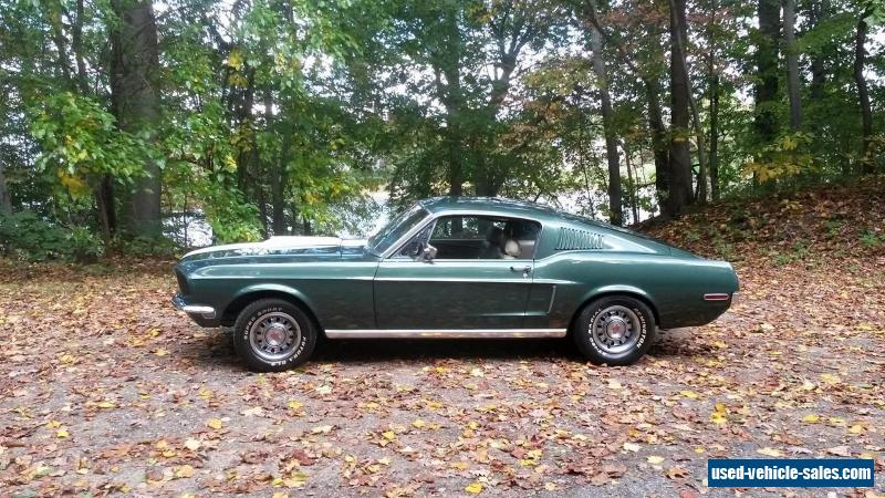 1968 Ford Mustang for Sale in the United States