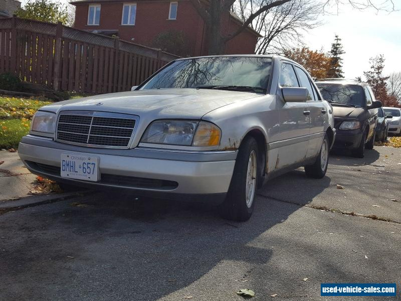 1996 mercedes benz c class for sale in canada for 1996 mercedes benz c class