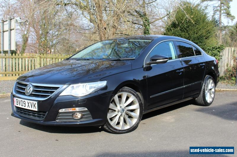 2009 volkswagen passat cc gt tdi 170 dsg black stunning example bi xenon lights for sale in the. Black Bedroom Furniture Sets. Home Design Ideas