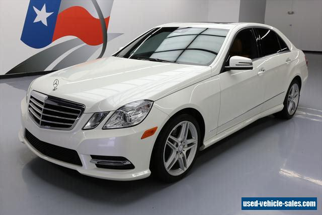 2013 mercedes benz e class for sale in the united states