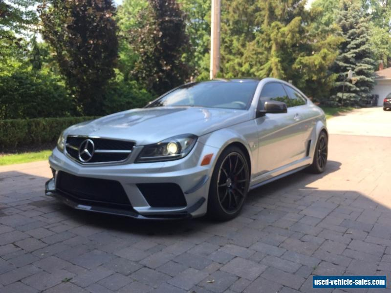 2012 mercedes benz c class for sale in canada for Mercedes benz c63 amg black series for sale