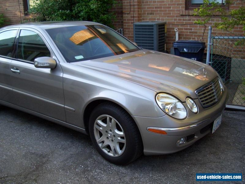 2004 mercedes benz e class for sale in canada