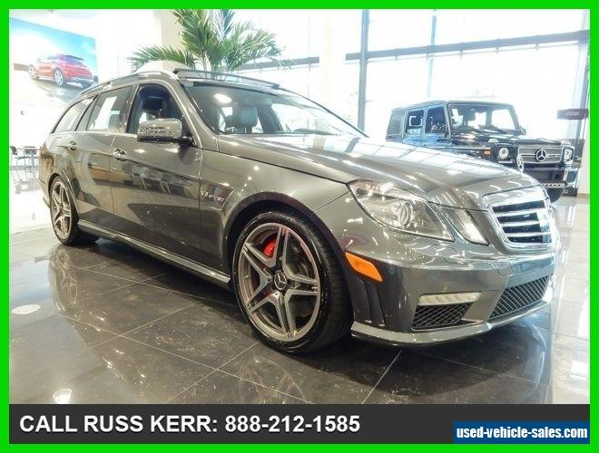 2012 Mercedes Benz E Class For Sale In Canada