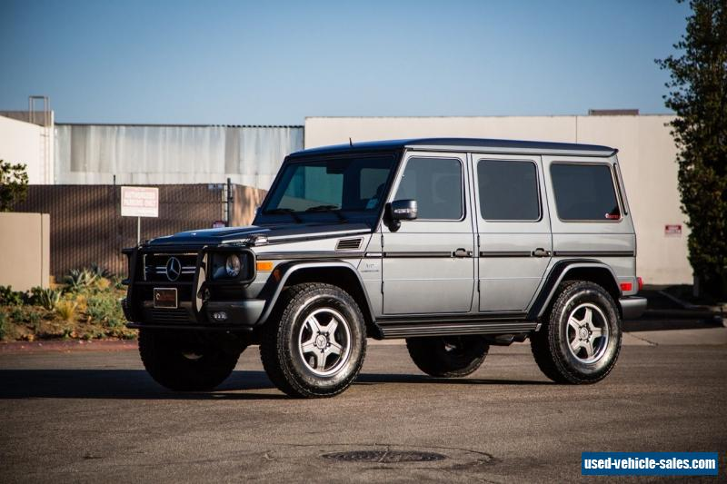 2007 mercedes benz g class for sale in canada for Mercedes benz g class sale
