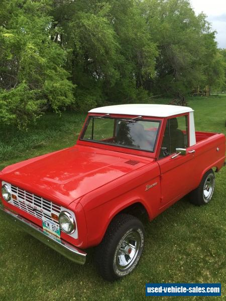 1966 ford bronco for sale in canada. Black Bedroom Furniture Sets. Home Design Ideas