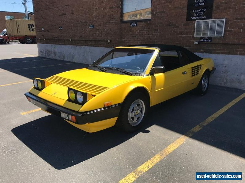 1984 ferrari mondial for sale in canada. Cars Review. Best American Auto & Cars Review