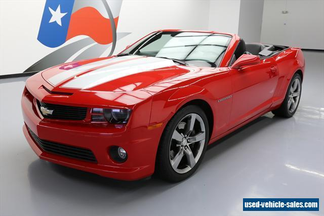 2012 chevrolet camaro for sale in the united states. Black Bedroom Furniture Sets. Home Design Ideas