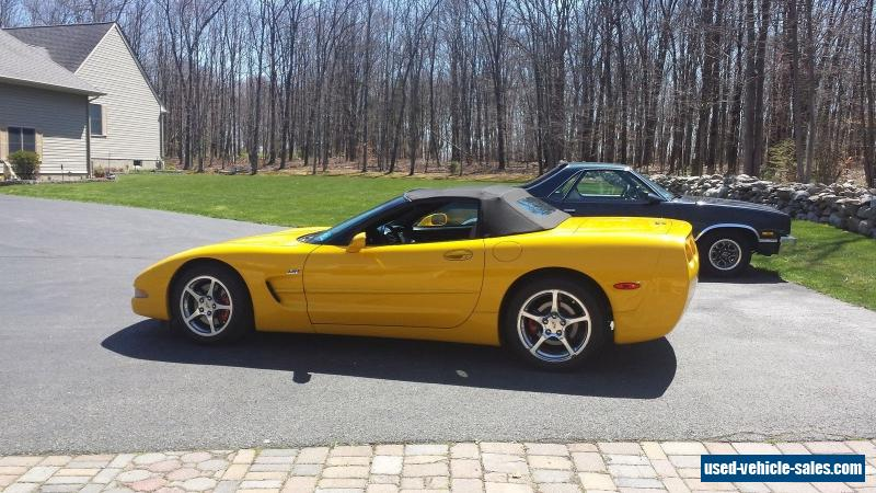 2004 chevrolet corvette for sale in canada. Black Bedroom Furniture Sets. Home Design Ideas