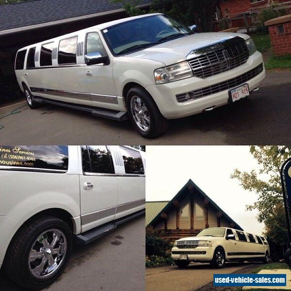 Lincoln Limo For Sale: 2008 Lincoln Navigator For Sale In Canada