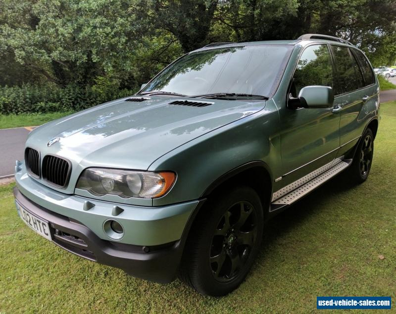 2002 bmw x5 for sale in the united kingdom. Black Bedroom Furniture Sets. Home Design Ideas