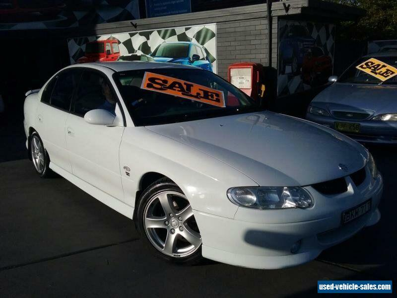 2002 Holden Commodore VX S White Manual M Sedan