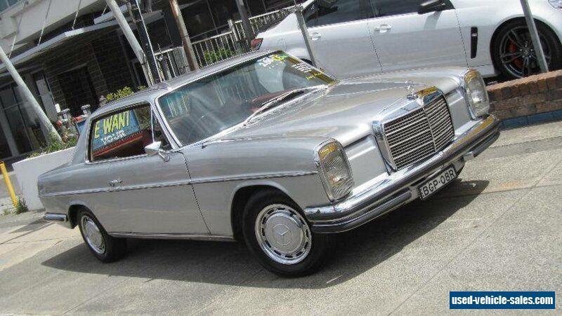 1973 Mercedes-Benz 280 CE Silver Automatic 4sp A Coupe