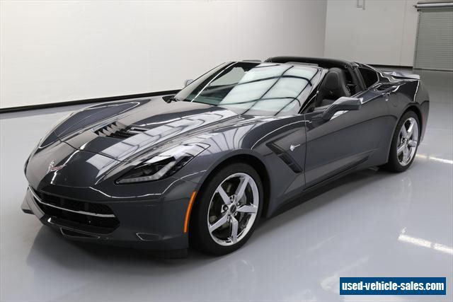 2014 chevrolet corvette stingray for sale