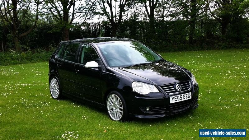 2005 volkswagen polo tdi sport 130 bhp for sale in the united kingdom. Black Bedroom Furniture Sets. Home Design Ideas