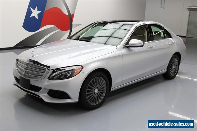 2015 mercedes benz c class for sale in the united states