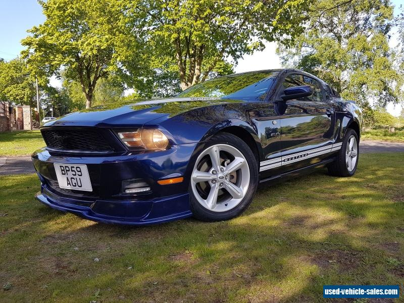 2010 ford mustang for sale in the united kingdom. Black Bedroom Furniture Sets. Home Design Ideas