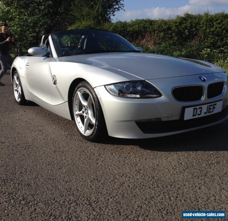 Bmw Z4 Convertible Black: 2006 Bmw Z4 For Sale In The United Kingdom