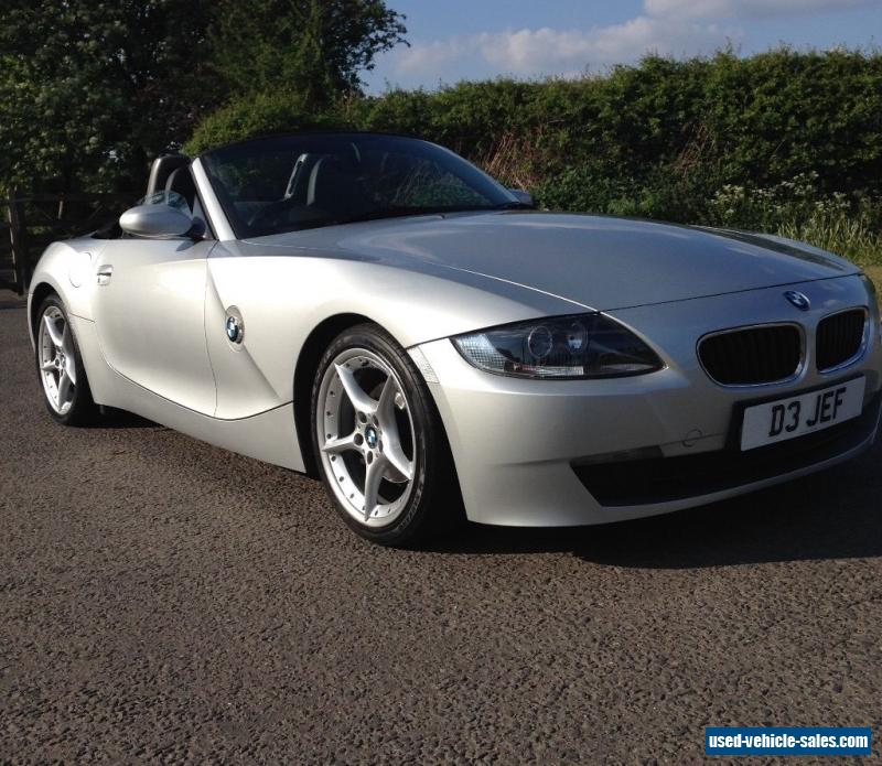 Bmw Z4 Specs: 2006 Bmw Z4 For Sale In The United Kingdom
