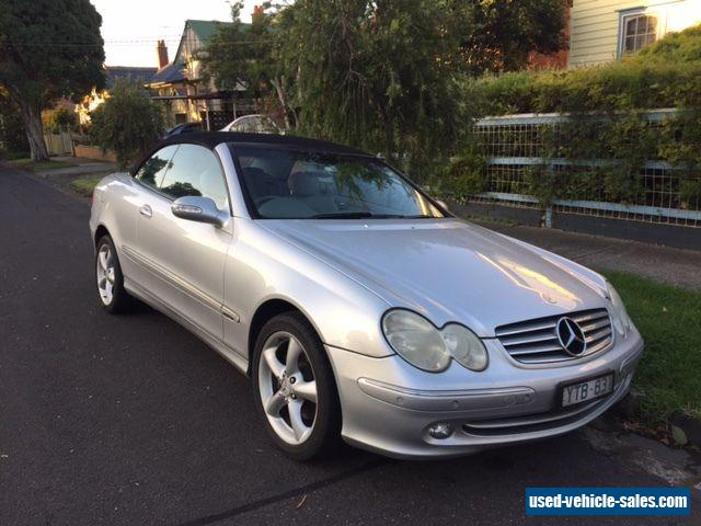 Mercedes benz clk320 for sale in australia for Used convertible mercedes benz for sale