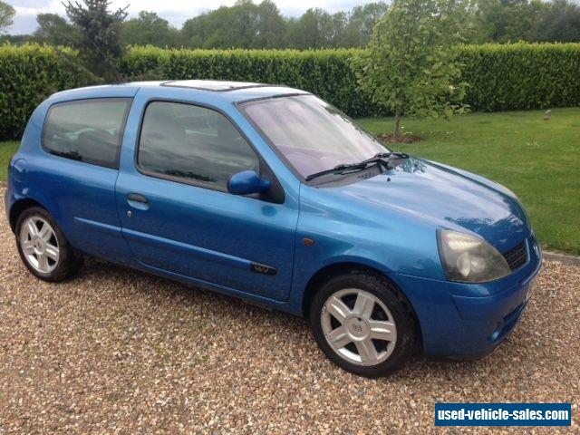 2002 Renault CLIO EXPRESSION for Sale in the United Kingdom