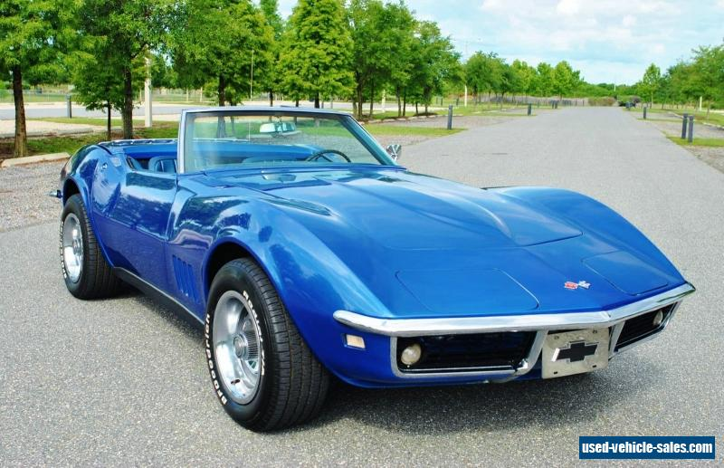 1968 chevrolet corvette for sale in the united states. Black Bedroom Furniture Sets. Home Design Ideas