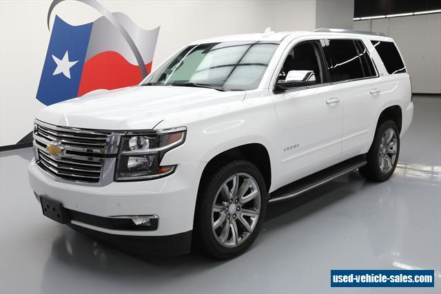 2016 chevrolet tahoe for sale in the united states. Black Bedroom Furniture Sets. Home Design Ideas