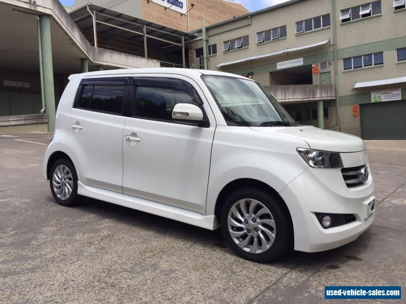 2008 toyota bb auto zq white hatchback for sale in australia