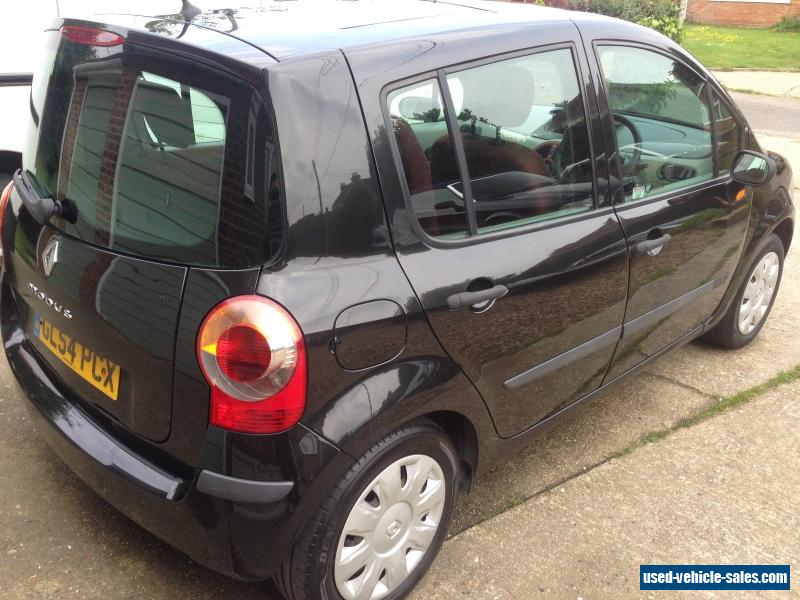 2005 renault modus expression 16v for sale in the united kingdom. Black Bedroom Furniture Sets. Home Design Ideas