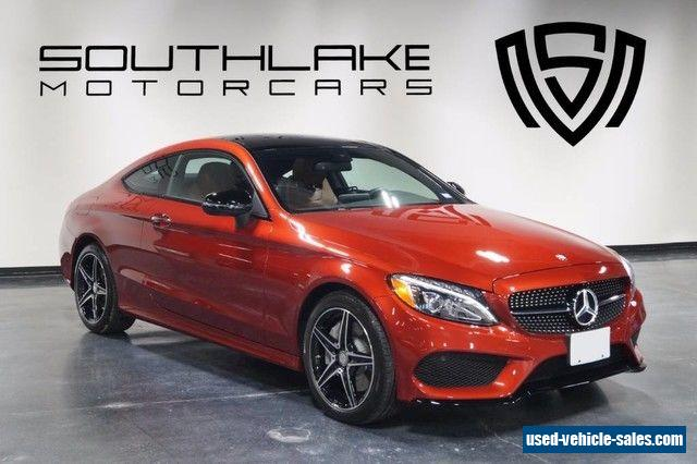 2017 mercedes benz c class for sale in the united states for Mercedes benz 2 door coupe for sale
