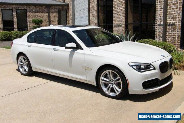 2014 bmw 7 series for sale in canada. Black Bedroom Furniture Sets. Home Design Ideas