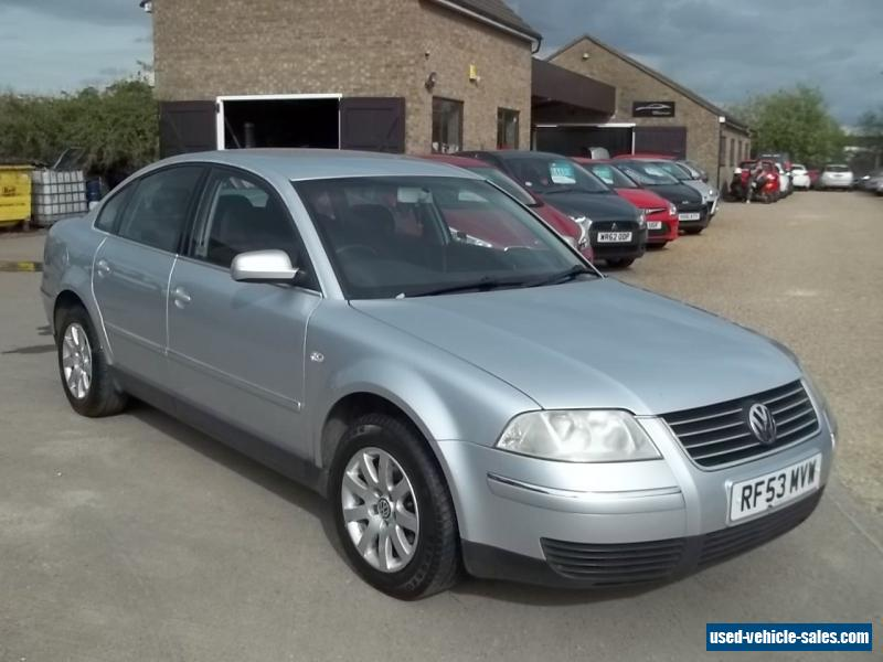 2003 volkswagen passat se tdi for sale in the united kingdom. Black Bedroom Furniture Sets. Home Design Ideas