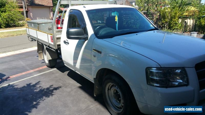 ford ford ranger 2008 xl 4x2 for sale in australia. Black Bedroom Furniture Sets. Home Design Ideas